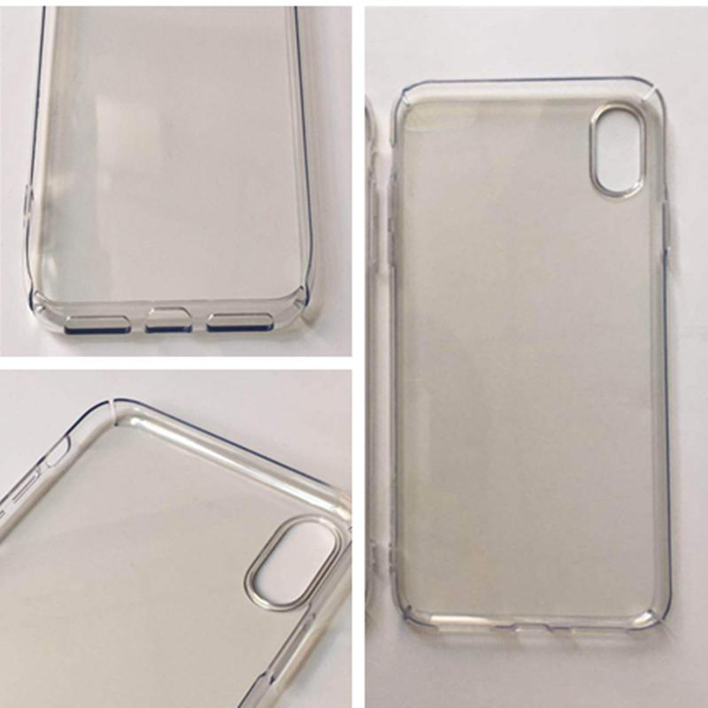 cheaper 2d85a 74b16 Custom DIY Clear PC Case for iphone X XR XS MAX Unltra Thin Slim Full Body  Protector Shockproof Cover Luxury Cases for Apple iphone x xs max
