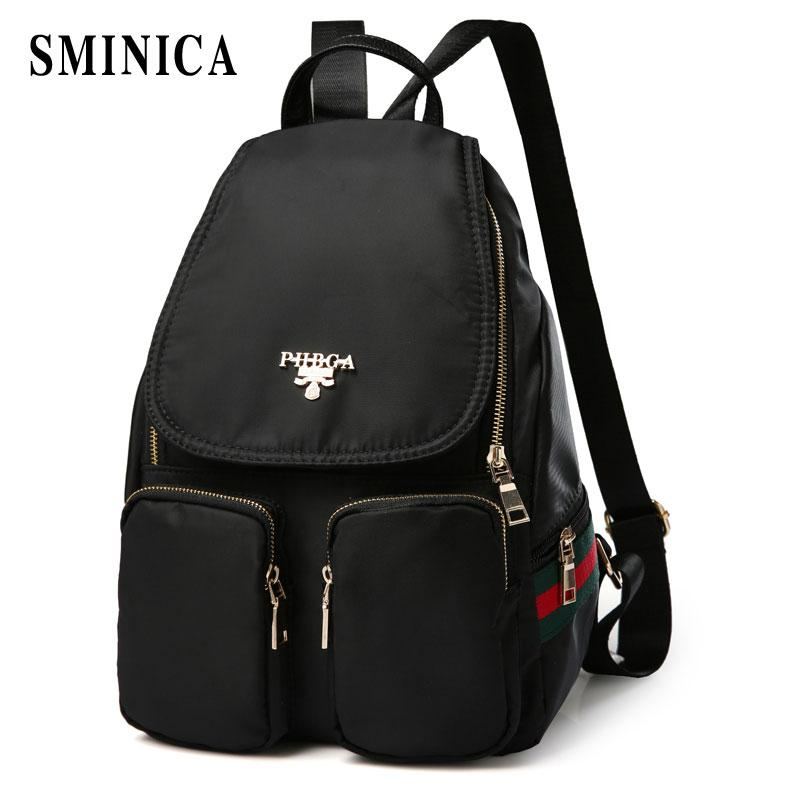 2b4338001a73 2018 BackpacShoulder Bags Casual Travel Bead Backpack For Teenage Girls  SchoolBag Backpack Feminina F Swiss Army Backpack Black Leather Backpack  From ...