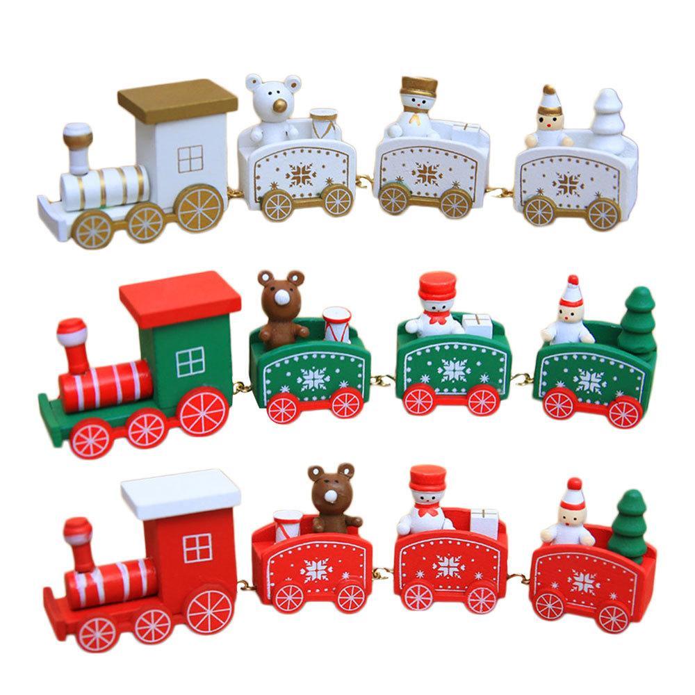 Xmas Train Ornament Christmas Decorations For Home Santa Claus ...