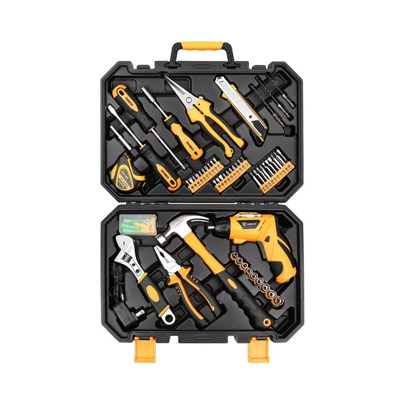 2019 Tool Set Box Kit Mechanics Automotive Bicycle Drill For Women
