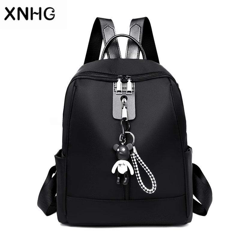 Korean Style Fashion Backpack Bag Brand 15.6 Inch Waterproof Back Pack  School Backpack Bag Laptop Notebook Mochila for Women Online with   45.06 Piece on ... 20ee3c75c9743