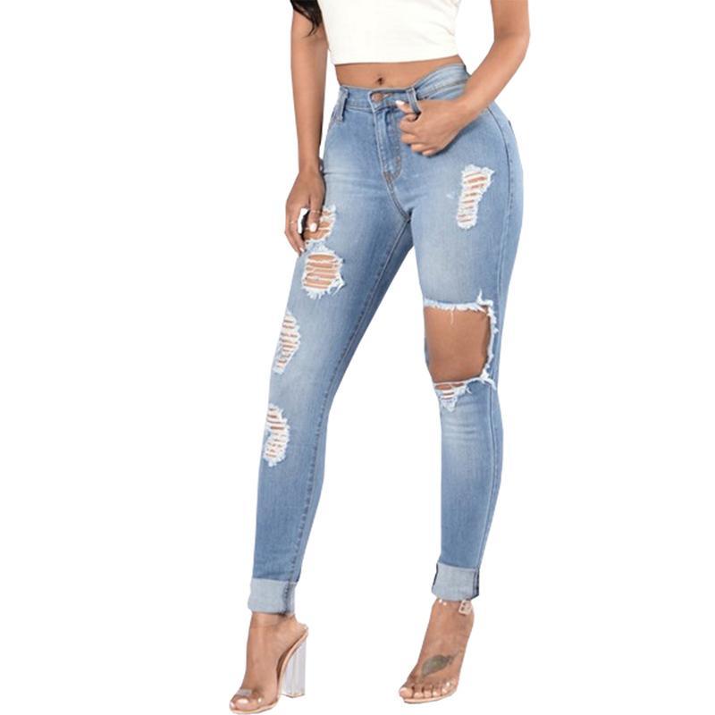 Großhandel Loch Zerrissene Jeans Frauen Hosen Cool Denim Vintage Gerade  Jeans Für Mädchen Hohe Taille Casual Hosen Weiblich Von Weilad,  34.81 Auf  De. 42267c9ba6