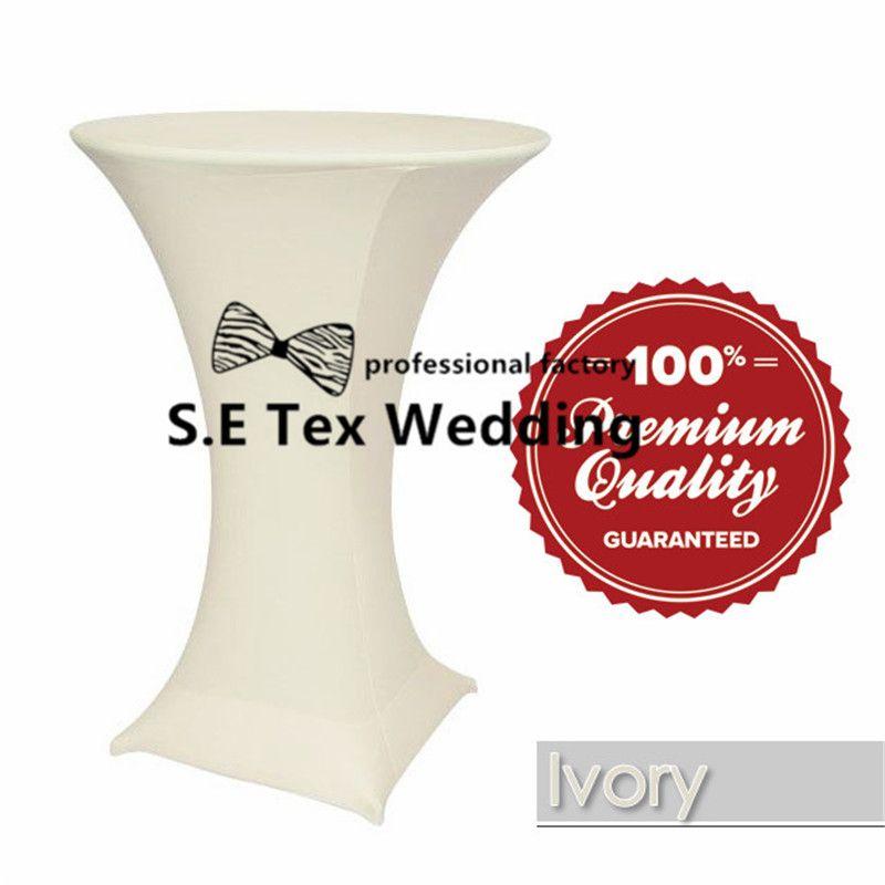 / Lycra Spandex Coctel de mesa \ Paño de tabla de la boda para la decoración del evento del partido Envío gratis