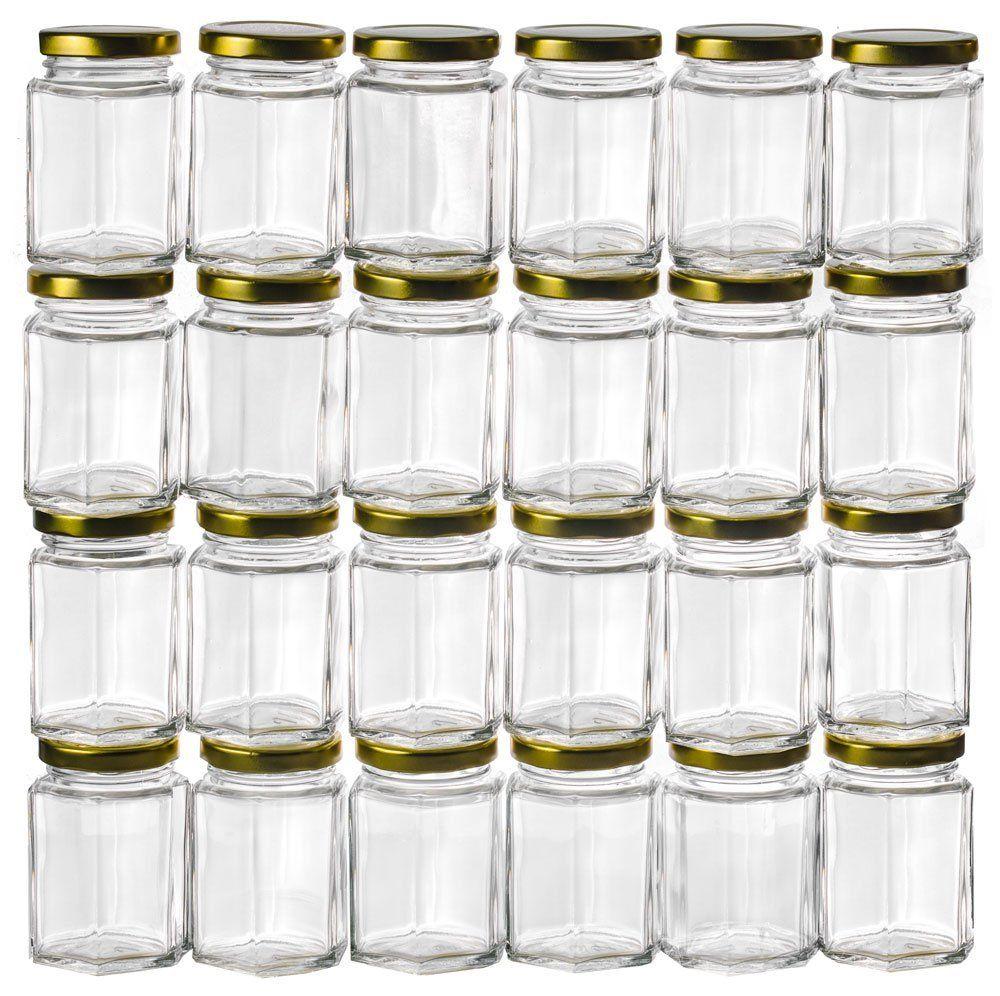 dbafc0d99ade Wholesale- 3.75OZ Hexagon Glass Jars,Bulk 24 Pack, USD54.00 for 24PCS/Each  USD2.25