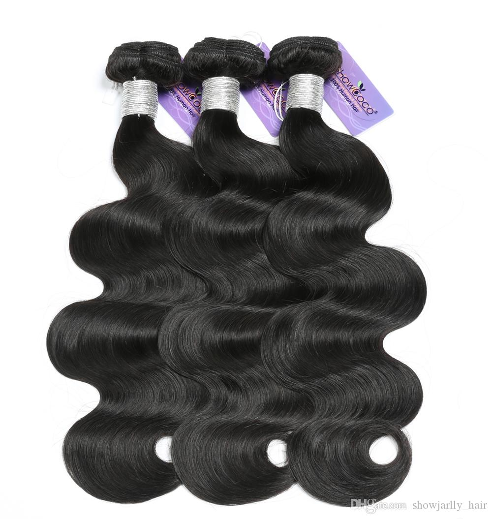Crochet braid hair bulk unprocessed afro human brazilian virgin remy hair weave body wave 3 bundles Raw cambodian hair weave