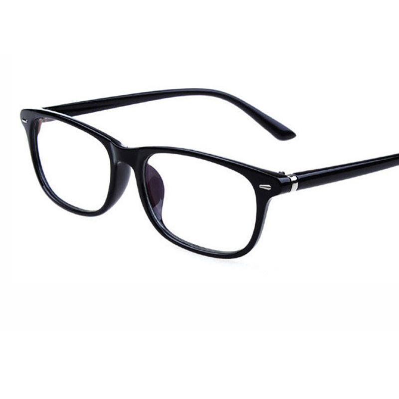 1808077aaa8 2018 New Fashion Retro Rivet Frame Eyeglasses Frame Men Women Anti Blu Ray  Anti Radiation Lens Eye Glasses Frames For Myopia Glasses Rimless Glasses  Frames ...