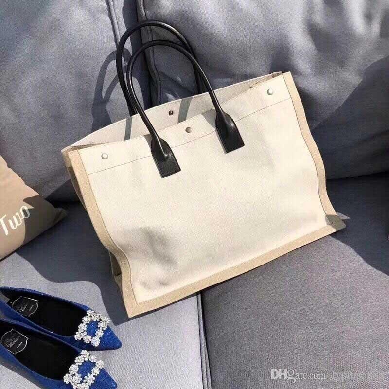2018 Brand Designer Handbags River Designer Shopping Bags Large ... 467c08e8f0