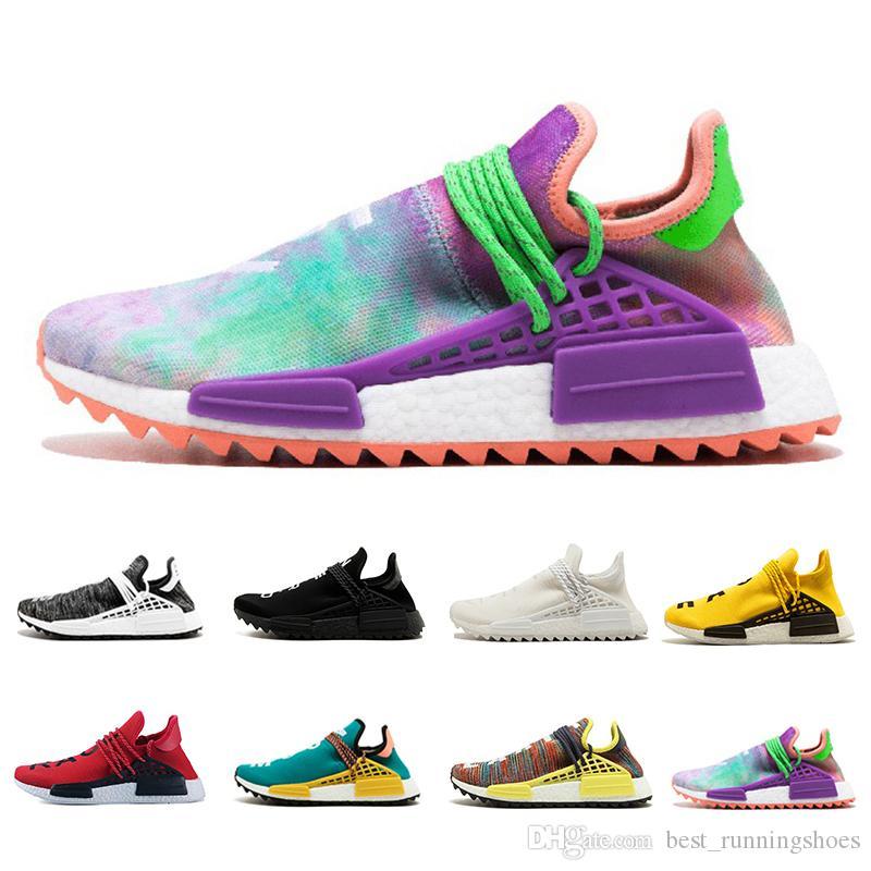 0e1dbb447e0a2 2018 NMD Human Race TR Men Running Shoes Pharrell Williams Nmds ...