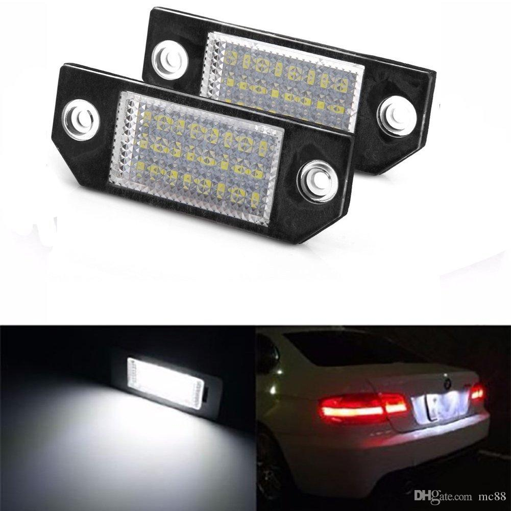 No Error LED Number License Plate Light Lamp For Ford Focus MK2/C Max MK1  Auto Bulbs Auto Bulbs Led From Mc88, $9.99| DHgate.Com