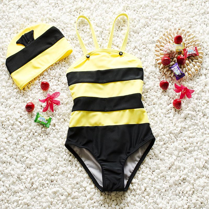e6ffe87308366 2019 Beach Baby Boy 2018 Girls Baby Swimwear Swimsuit Girls One Pieces Bee  Infant Toddler Swimwear Sun Protection Bathing Suits From Fkansis, ...