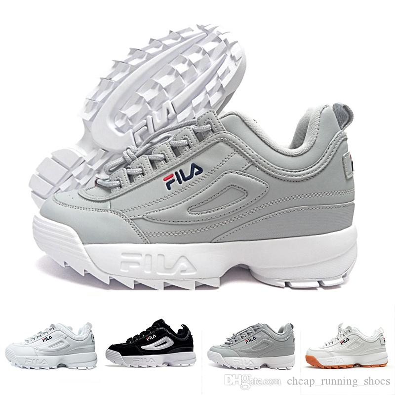 New Arrival white black grey yellow Disruptors II 2 Women men FILE special section sports sneaker running shoes increased shoes 36-44 perfect online big discount cheap price free shipping authentic gadwSE