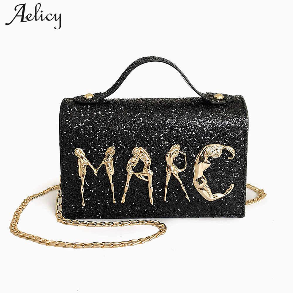 Aelicy 2018 New Women s Chain Messenger Bag Women Handbag Cross Body  Diagonal Leisure Bags Luxury Handbags Women Bags Designer Satchels Leather  Purses From ... c8fb031655674