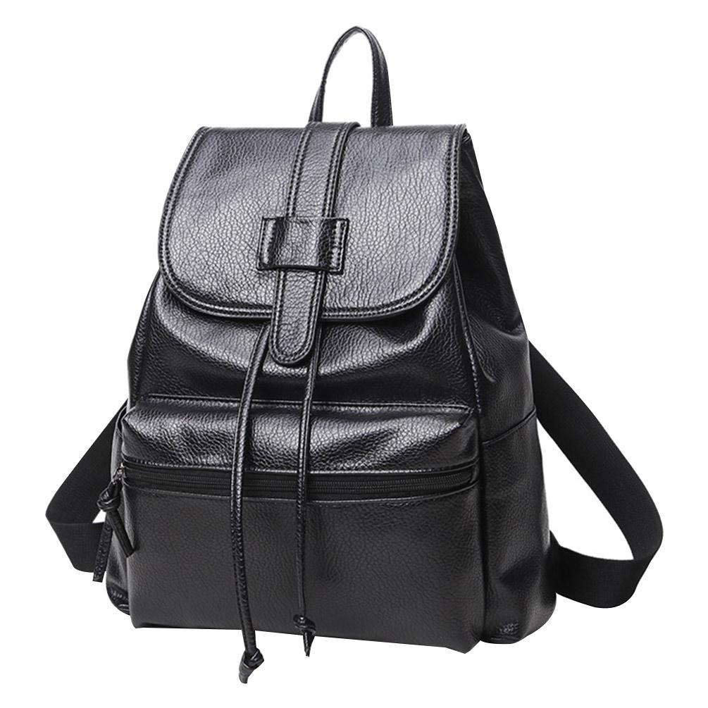 500d292732 Vbiger Women Drawstring Backpack PU Leather School Bag Simple Outdoor  Daypack Trendy Shoulders Bag Backpacks Cheap Backpacks Vbiger Women  Drawstring ...
