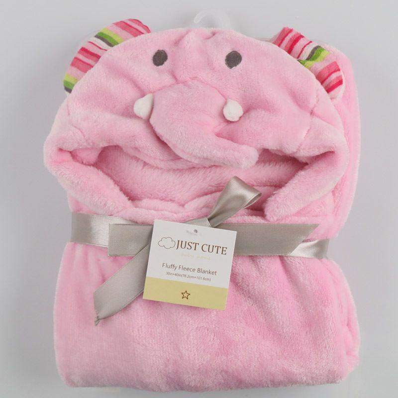 ! 3D dos desenhos animados Cobertores Do Bebê Macio 76 cm * 92 cm 0-6 anos de idade Crianças cobertor fllannel crianças toalha de banho bonito animal forma bebê manto