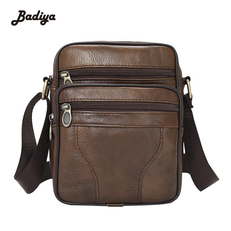 Genuine Leather Mens Bags Male Crossbody Bags Small Flap Casual Business  Messenger Bag Men S Shoulder Bag Shoulder Bags Leather Bags From Lookchill 82d6805d11f14