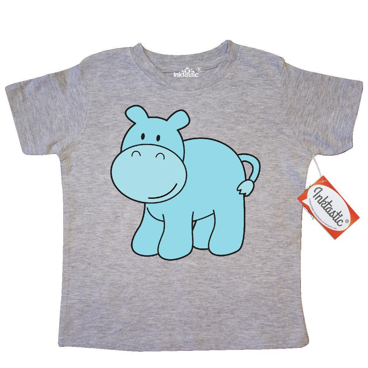 73f735d3f Inktastic Cute Blue Hippo Toddler T Shirt Hippopotamus Tees. Gift Child Kid  Funny Unisex Casual Tee Gift The T Shirt T Shirts Designer From Tee_spirit,  ...