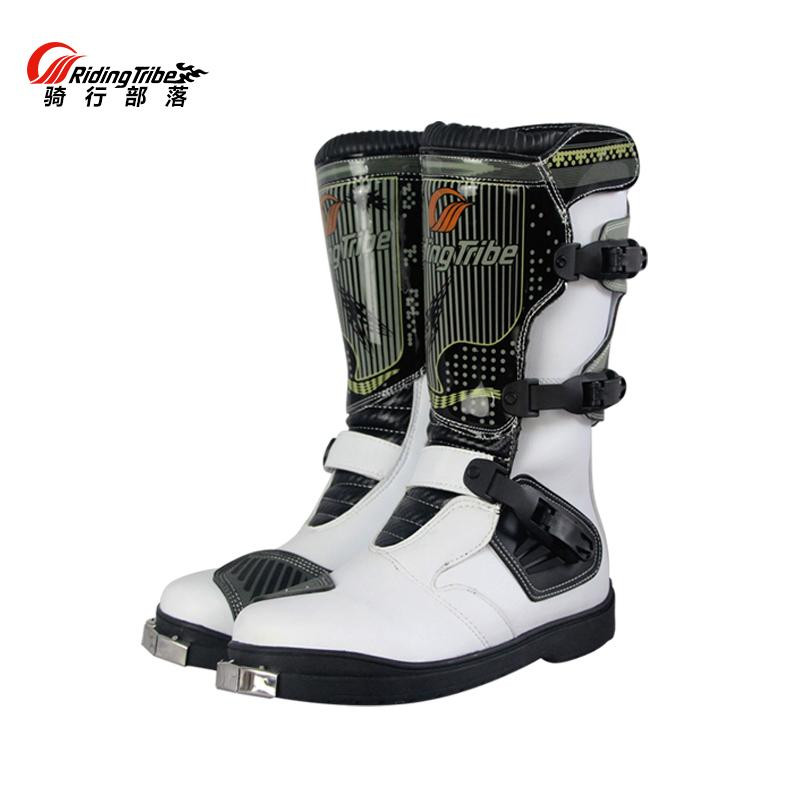 a62d600a965e6b PRO-BIKER PU Leather Motorcycle Motocross Racing Long Boots Shoes ...