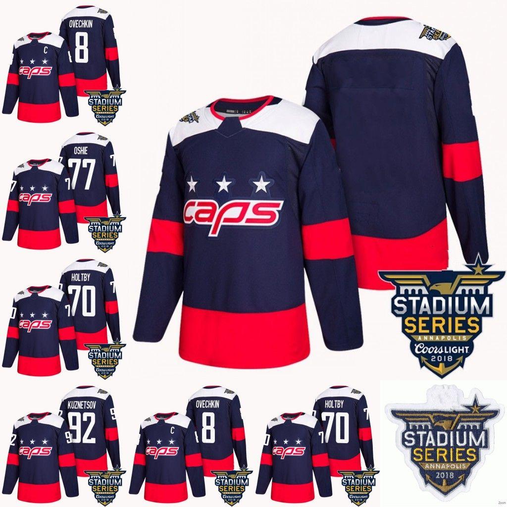 2018 Stadium Series Washington Capitals 8 Alex Ovechkin 70 Braden ... ea8b3f4547a