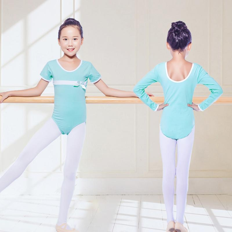 42f2be05f217 2019 Ballet Gymnastics Leotard For Dance Kids Ballerinas Dancing Jumpsuits  Child Ballet Leotards Girls Practice Wear Clothes DNV10154 From Lvyou09, ...