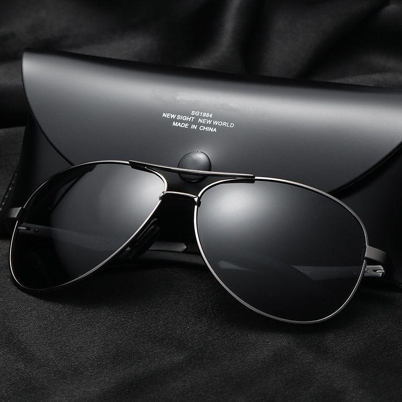 2a4441817b Compre Vazrobe 148 Mm Gafas De Sol Polarizadas Para Hombre Gafas De Sol De  Aviación Sobredimensionadas Para Hombre Conducción De Gafas Antirreflejo  UV400 ...