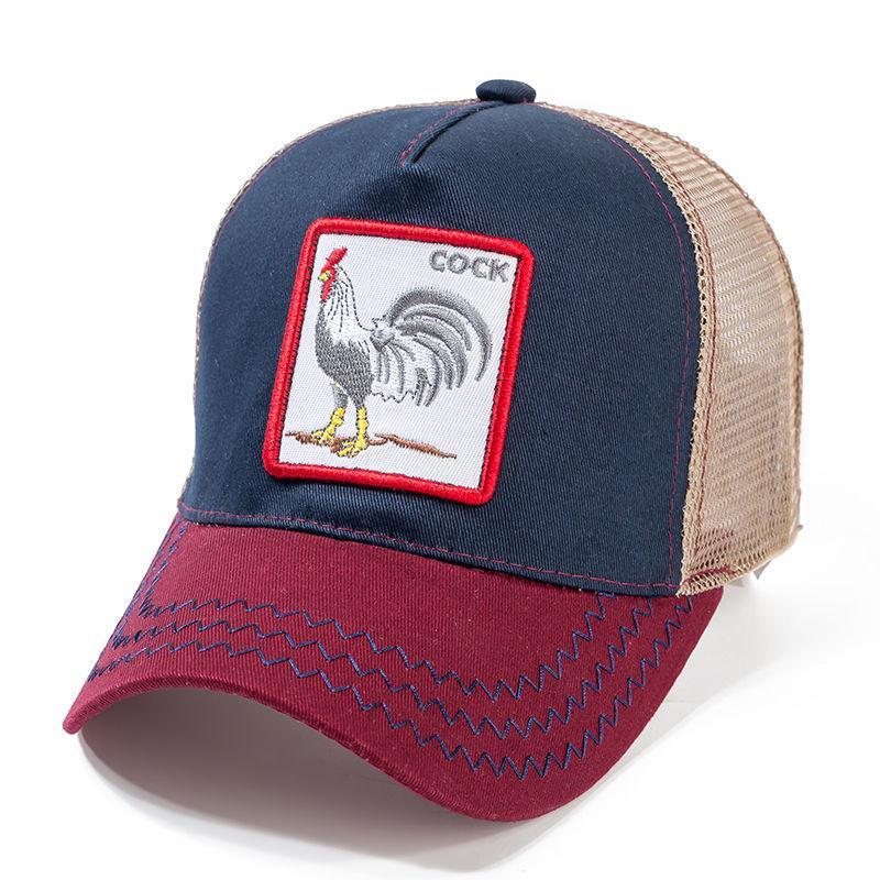 Compre Alta Calidad 12 Estilos Animales Gorra De Béisbol De Algodón De Malla  Transpirable Snapback Caps Unisex Sun Hat Para Mujeres Hombres Hip Hop Papá  ... f3a9f46a79c