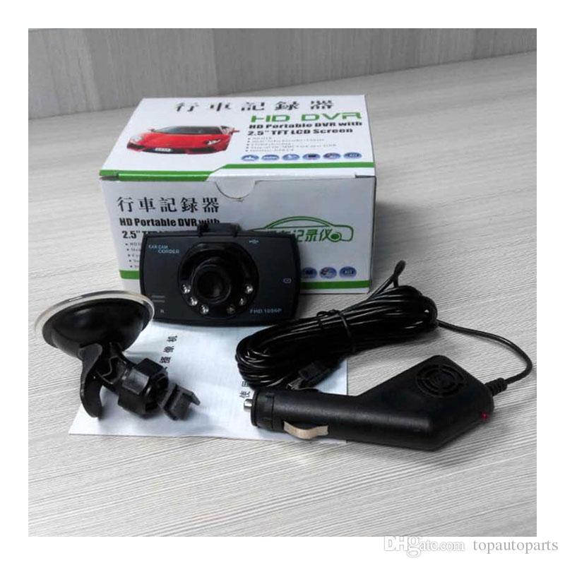 무료 배송 2.2inch MINI 자동차 DVR 차량 대시 도로 안전 자동차 DVRs 카메라 비디오 레코더 타코 그래프