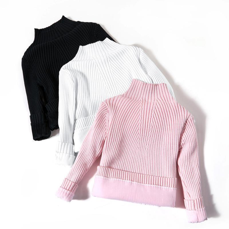 Compre Suéteres De Invierno Para 3 10 Años, Niñas Grandes, Térmicas ...