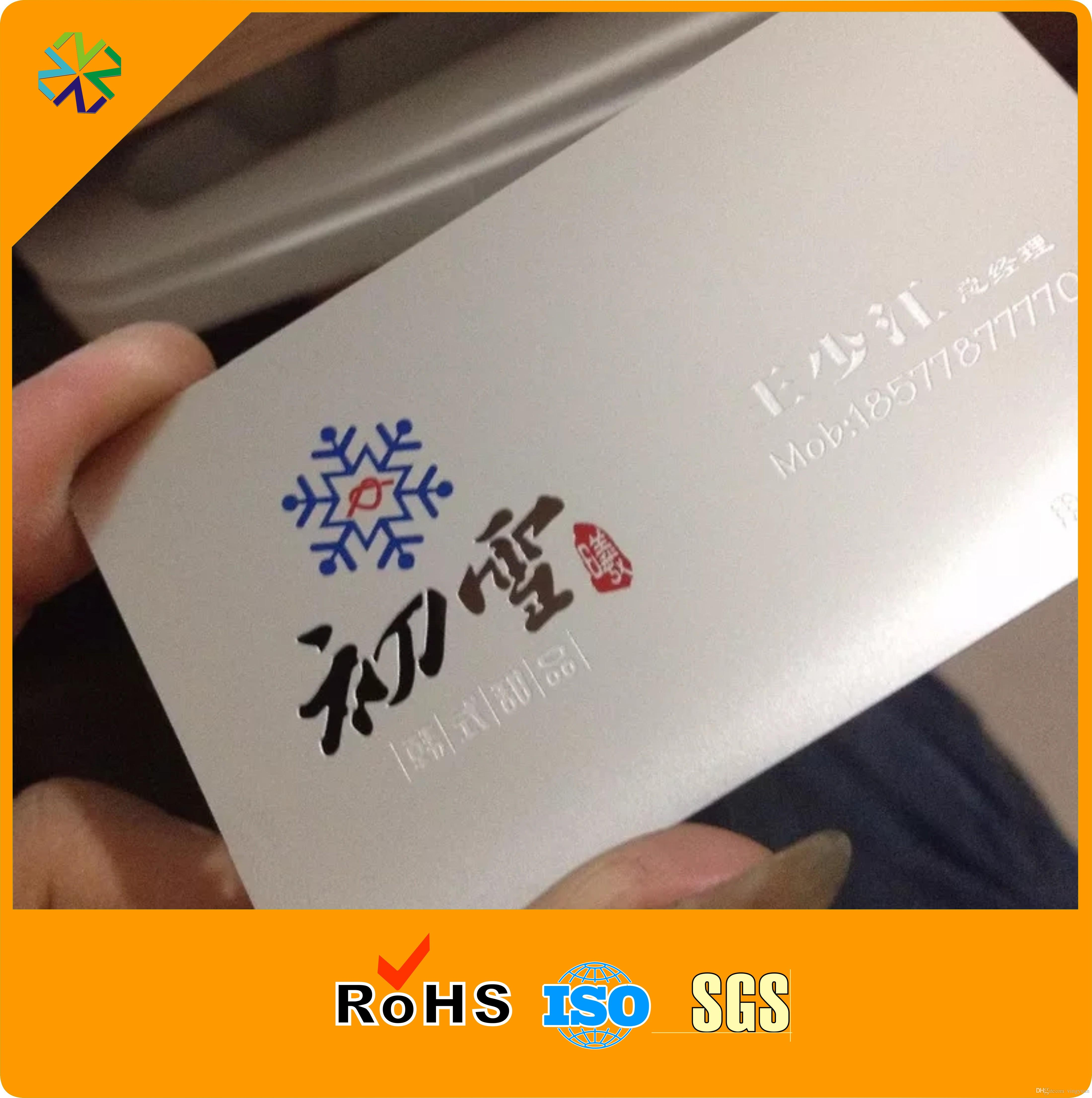 Acheter Cartes De Visite Membre En Mtal Matriel Acier Inoxydable Dpaisseur 05mm Prix Usine 15999 Du Vingyuan