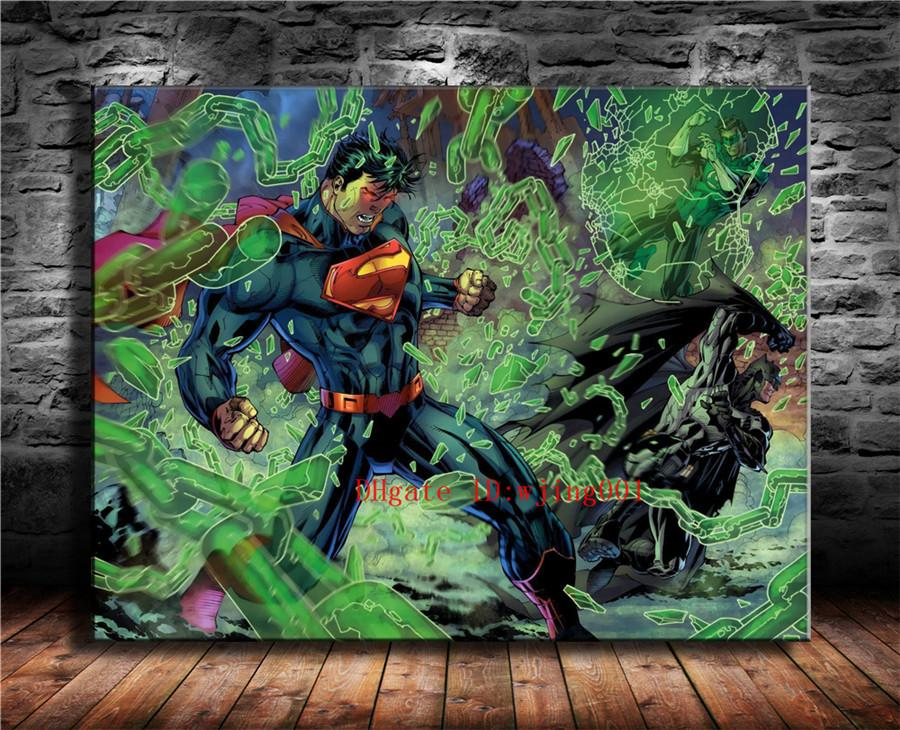2019 Superman Canvas Pieces Home Decor HD Printed Modern Art Painting On Unframed Framed From Wjing001 641