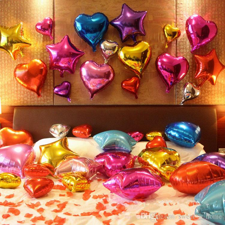 Party Decorations Stars Balloon Cheap Sweet Party Balloons For
