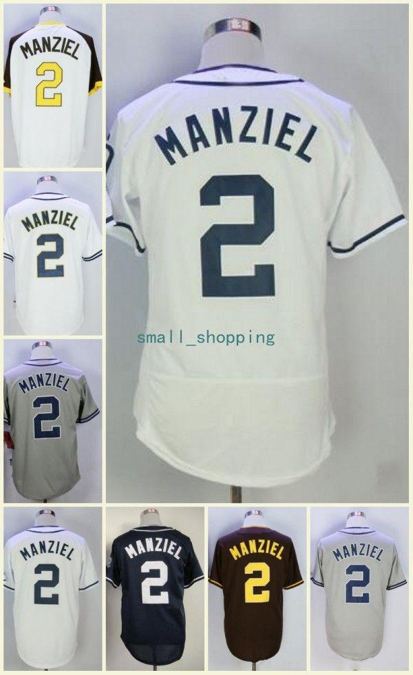 finest selection 1fbb8 b1ca3 johnny manziel baseball jersey 2