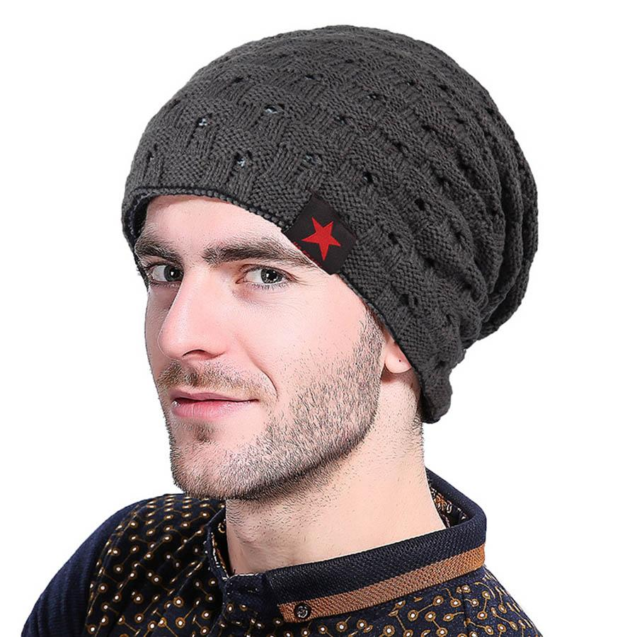 c239287b6ca 2019 2018 New Winter Beanie For Men Spring Cap Knitting Little Hollow Hat  Women Two Sides Crochet Skullies Korean Casual Ski Hats From Fopfei