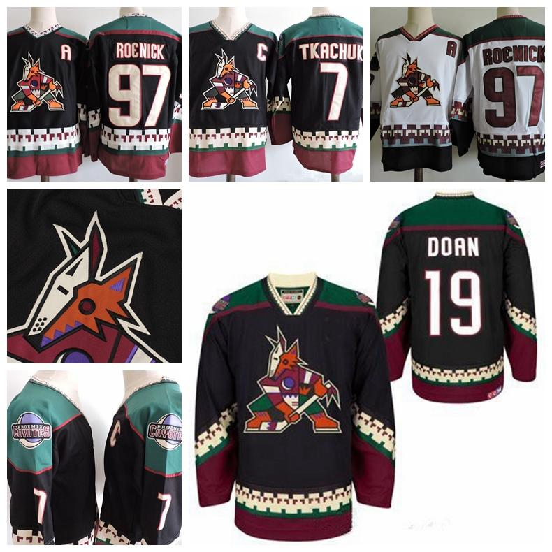 1db084c39 Phoenix Coyotes Vintage Keith Tkachuk Hockey Jersey Vintage 7 Keith ...