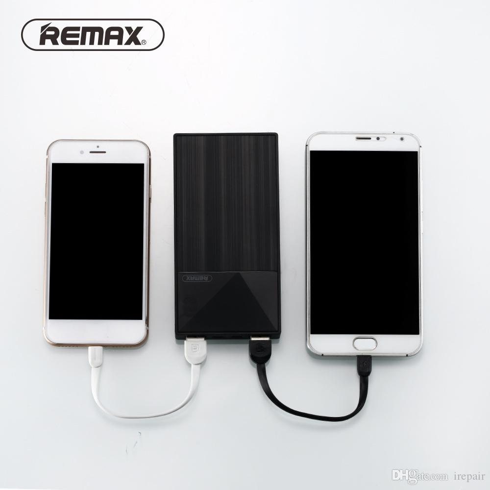 Remax 10000mAh Power Bank Portable External Battery Bank 2 0 A Output  Indicator Large Capacity Poverbank Charger For Phones
