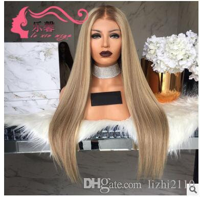 2018 new products, European and American wigs, women grow in length, straight hair lotion, wigs set, wholesale.