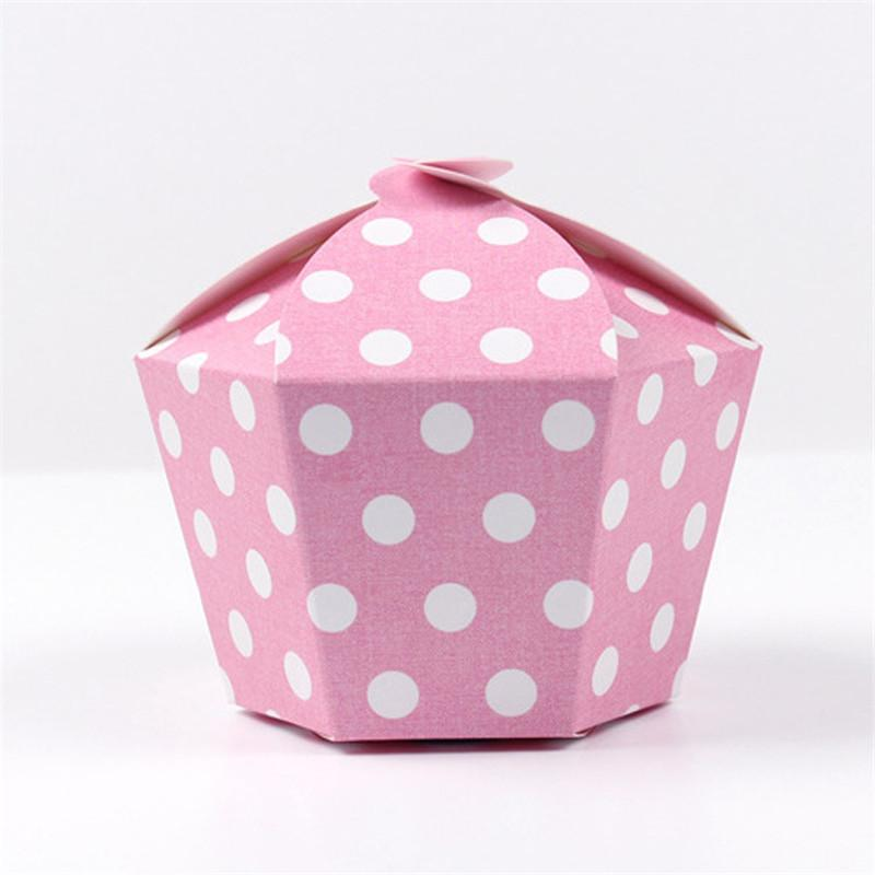 polygon paper packing box pink dot black star cake snack box wedding birthday christmas party gift box black and white wrapping paper black christmas