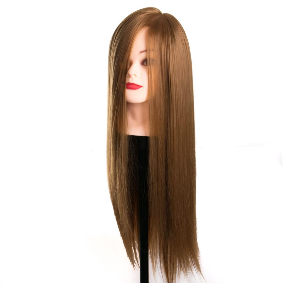 blonde hair training head hairdressing dolls head 68 cm female mannequins Training Doll Female Mannequins with lead spin