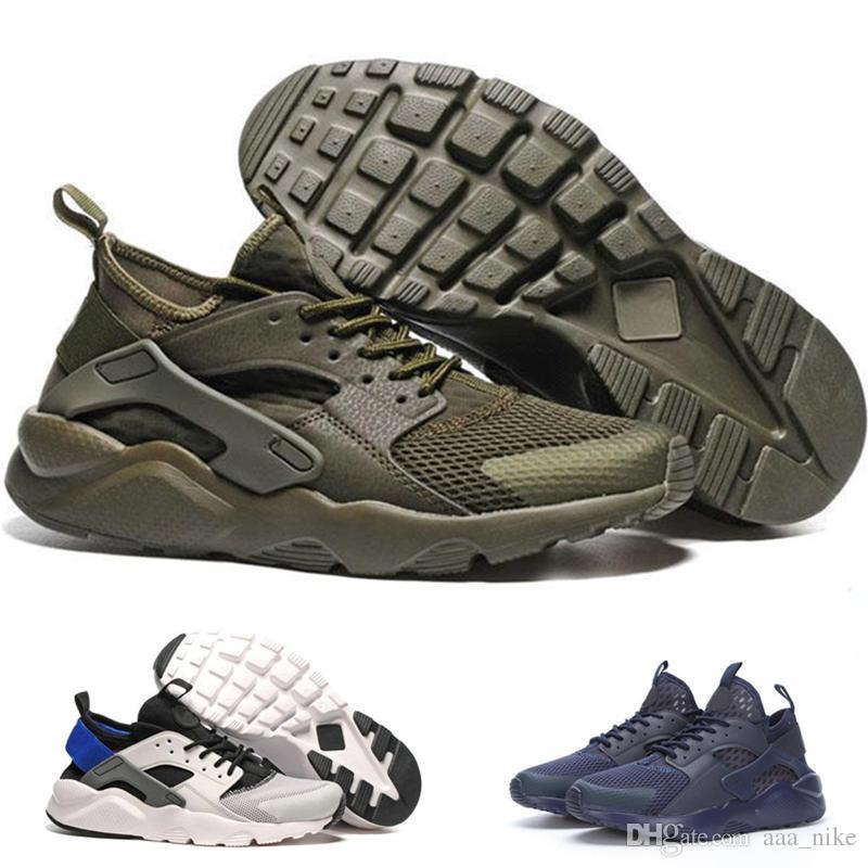 uk availability fda2a 95bb2 Nike Air Huarache 1 2 3 I II III Novas Cores Huaraches 4 IV Sapatos casuais  Para Mulheres Dos Homens, Top Qualidade Air Huarache Executar Ultra ...