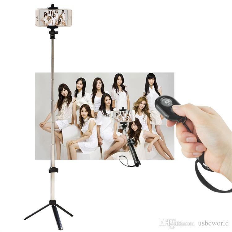 Ручной штатив 2-в-1 Удлинитель Bluetooth Selfie для iPhone x 8 7 6 6s 6plus Samsung Android смартфон