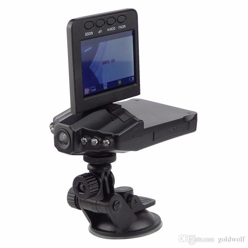 2.5 pulgadas Coche CAMS CAMS CAR DVR Grabadora Sistema de cámara Caja negra H198 Versión de noche Vida Video Recorder Dash Cámara