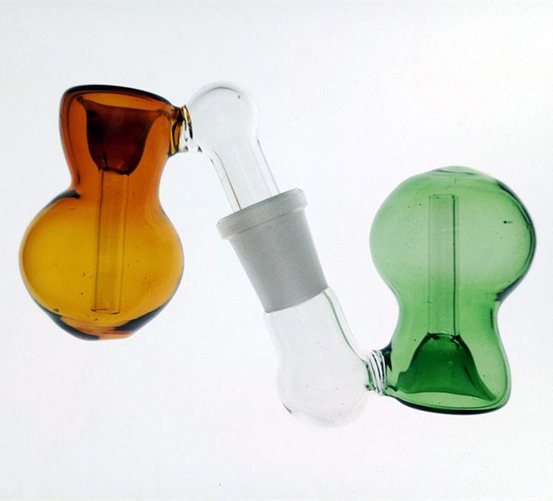 Best Design Glass Ash Catcher Bowls With Female Male Joint Bubbler And Calabash Glass Perc Ashcatcher Bowls