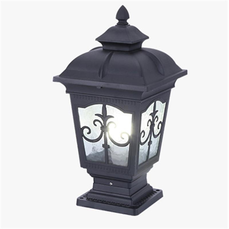 e27 retro led wall porch lamp waterproof outdoor garden villa