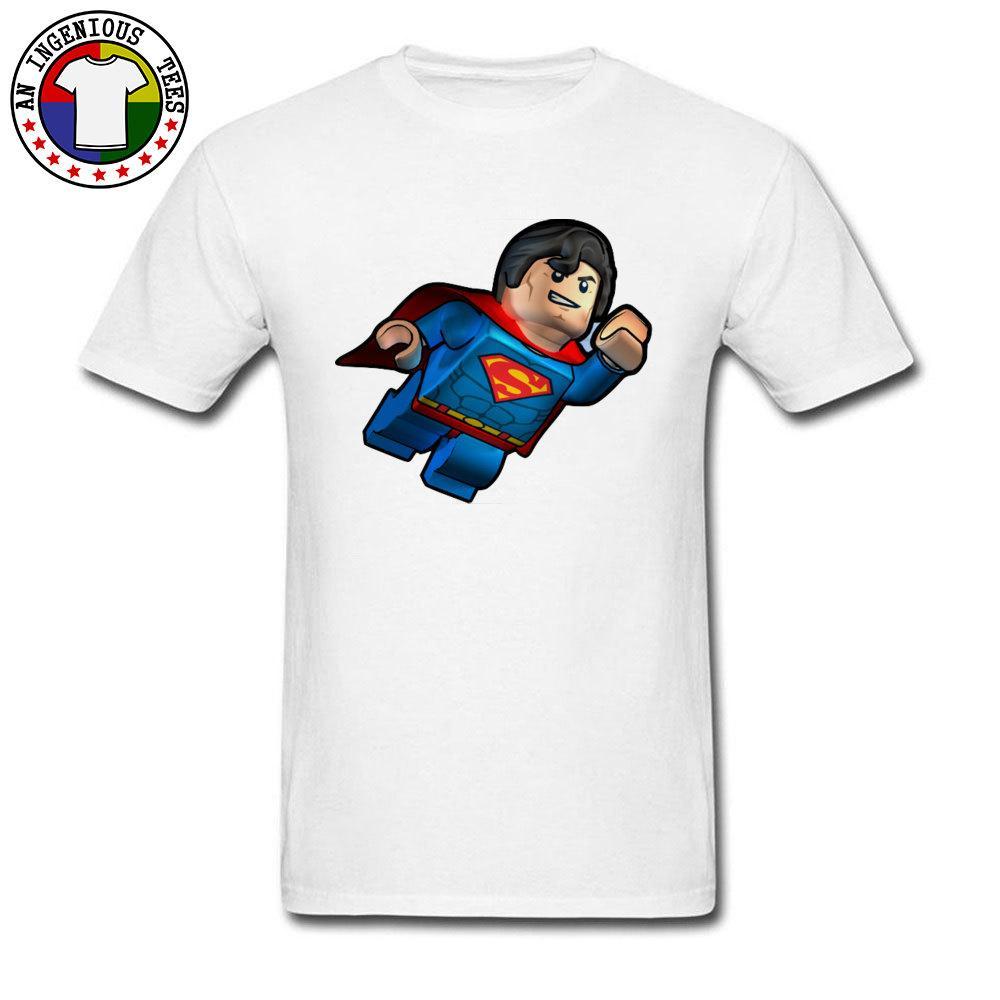 e811c5e4718 Fashionable Superman Cartoon Classic Short Sleeve T Shirt Summer Fall O  Neck Cotton Fabric Tops Shirt For Men Tees Funny Buy T Shirts Online T Shirt  From ...
