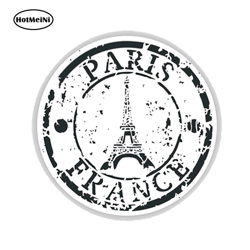 Wholesale Jdm Country Paris France Seal Vinyl Decals Car Stickers