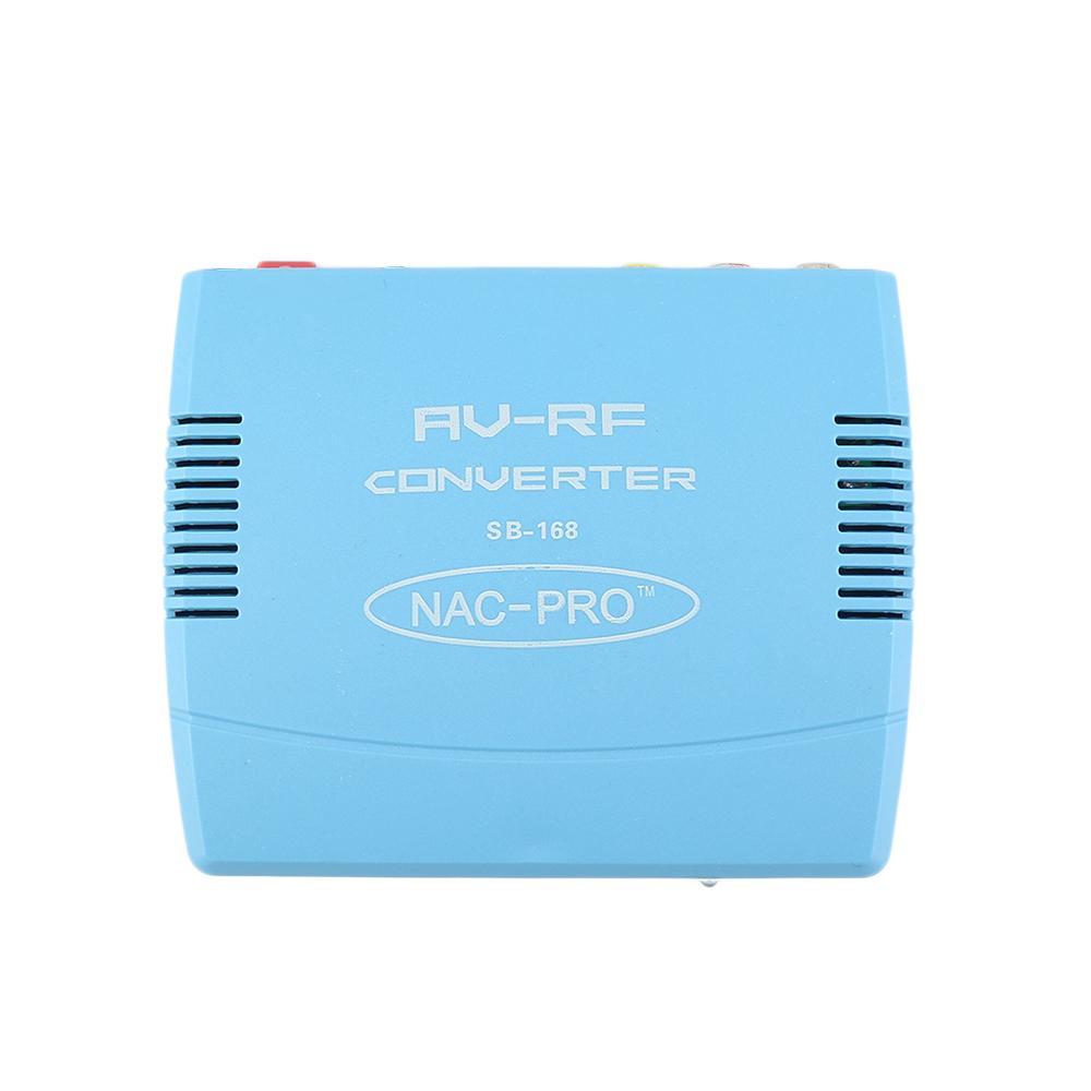 Centechia Tv Signal Audio Video Signal Converter Av To Rf Modulator ...