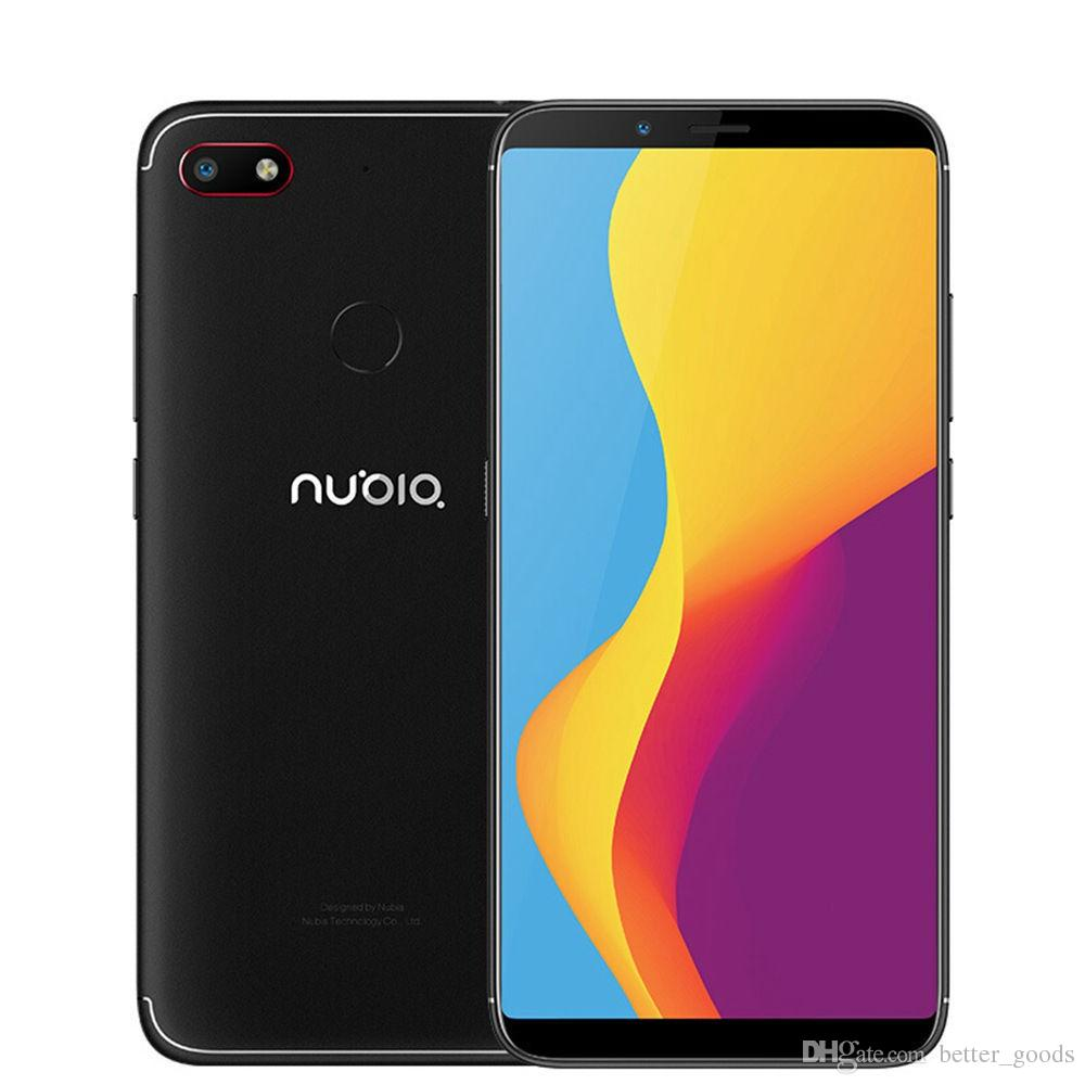 Original ZTE Nubia V18 4G LTE Mobile Phone 4GB RAM 64GB ROM Snapdragon 625  Octa Core 6 01 Full Screen 13MP Fingerprint ID Smart Cell Phone