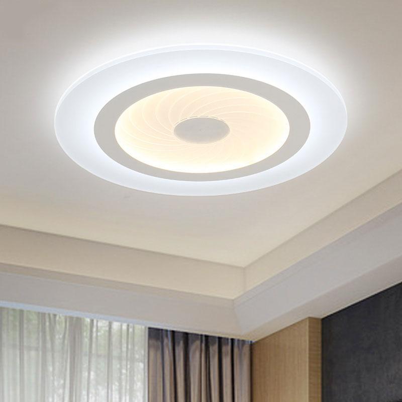 Großhandel 2018 Moderne LED Deckenleuchten Acryl Ultradünne ...