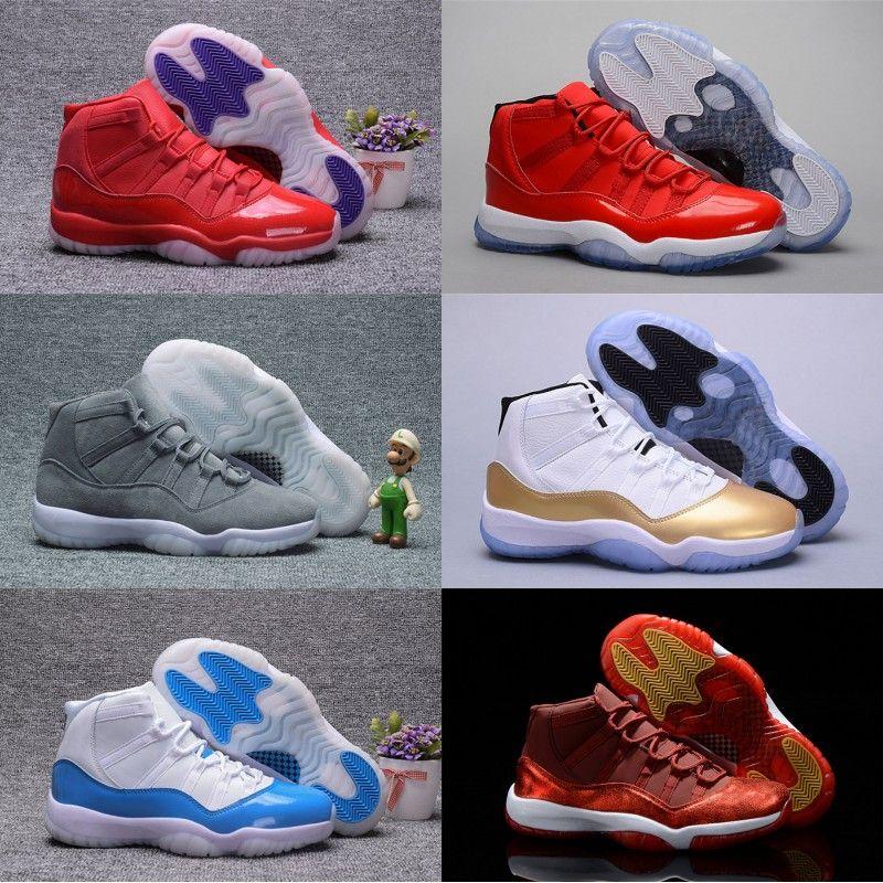da5765282fae0b 2018 Hot 11s Space Jam High Quality Bred Concord Basketball Shoes Men Women  11 Gym Red Midnight Navy Gamma Blue 72 10 Designer Sneakers Jordans Running  ...