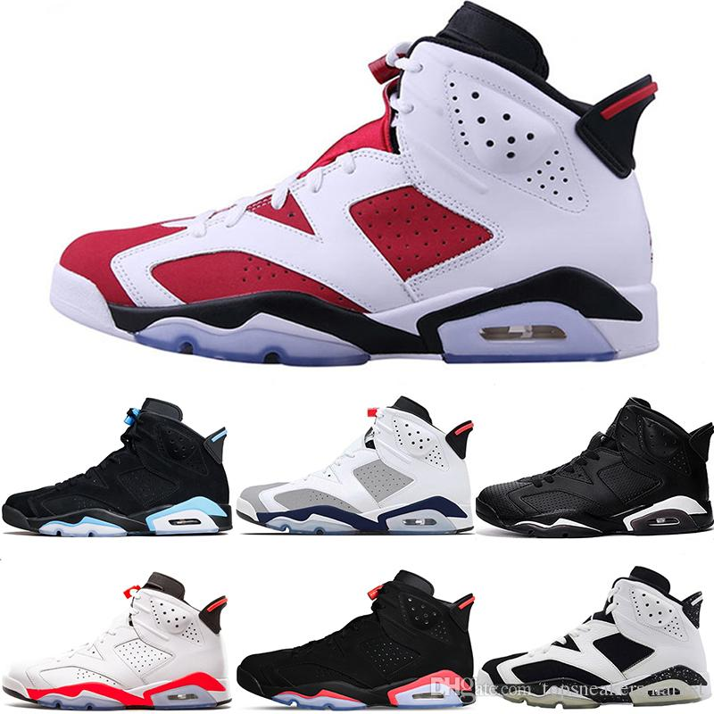 9e8c036e41d683 Men 6s Basketball Shoes Tinker Toro UNC Gatorade Oreo Black Cat ...