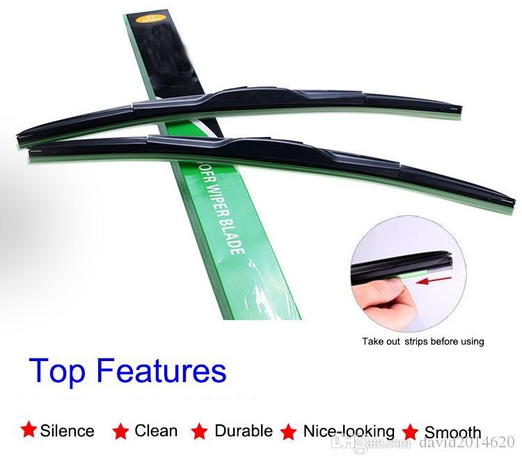 Car Windshield Wiper Blade Clear Advantage Beam Auto Front Wiper Blades For Ford Edge Mondeo Fiesta Focus Mondeo Kuga Ecosport Car Windshield Wiper Auto